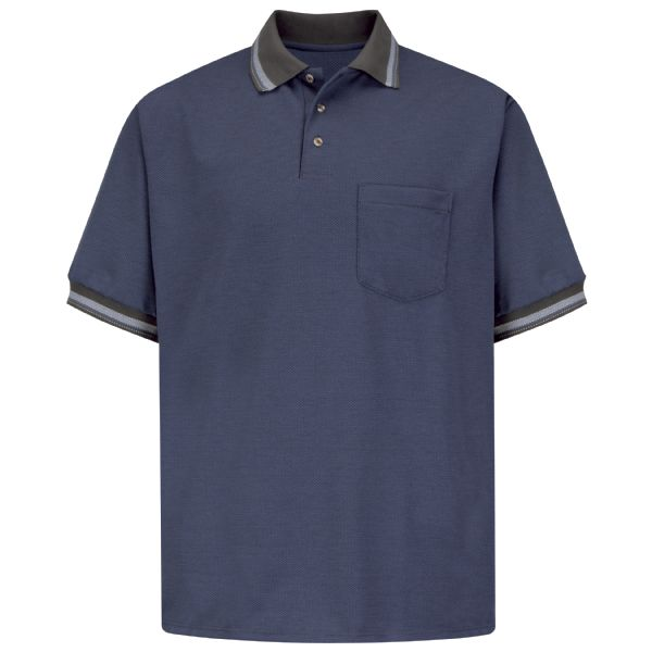 Men's Short Sleeve Performance Knit® Diamond Pattern Shirt