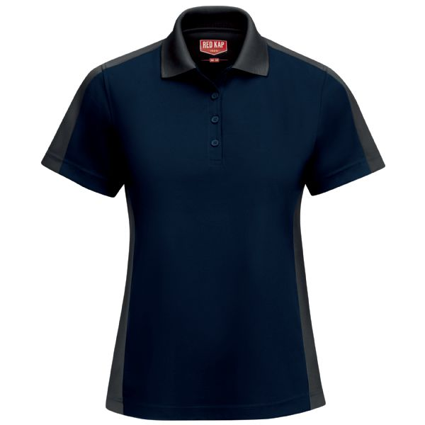 Product Shot - Women's Short Sleeve Performance Knit® Two-Tone Polo