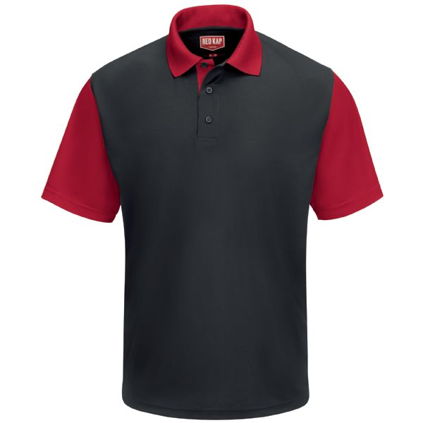Product Shot - Men's Short Sleeve Performance Knit® Color-Block Polo