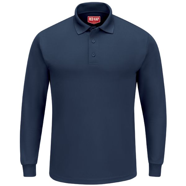 Product Shot - Men's Long Sleeve Performance Knit® Polo