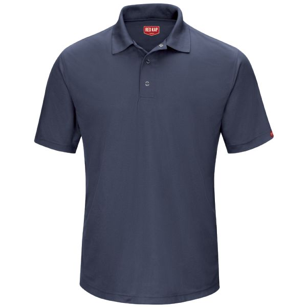 Product Shot - Men's Short Sleeve Performance Knit® Gripper-Front Polo