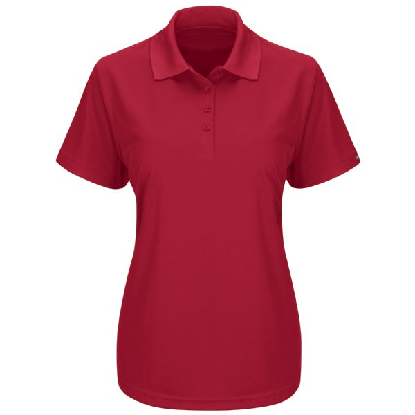 Product Shot - Women's Short Sleeve Performance Knit® Pocketless Core Polo