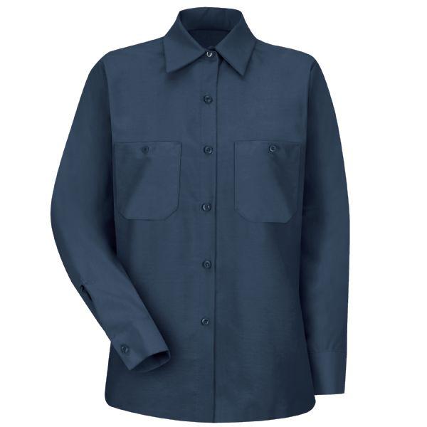 1d773b2b722838 Product Shot - Women s Long Sleeve Industrial Work Shirt