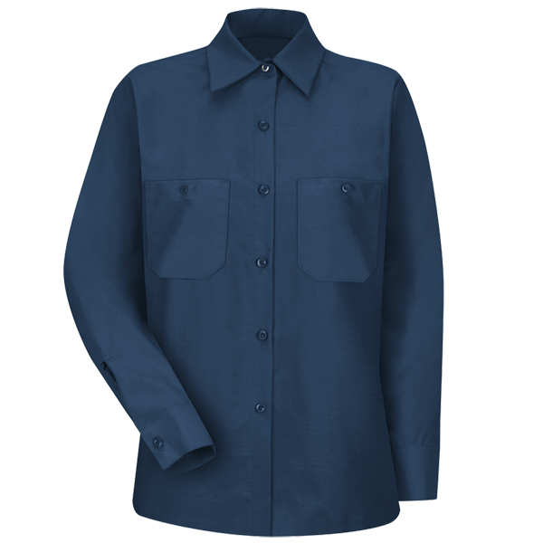 84dc57b60db Women s Long Sleeve Industrial Work Shirt