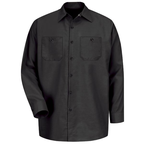 Product Shot - Men's Long Sleeve Industrial Work Shirt