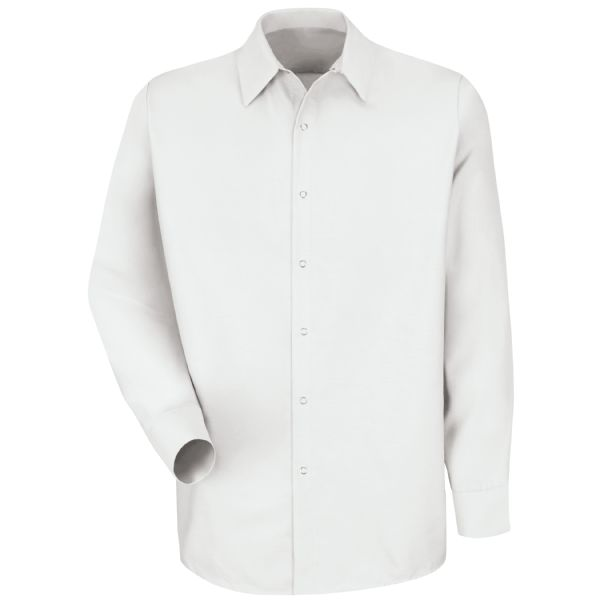 Product Shot - Men's Long Sleeve Specialized Pocketless Work Shirt