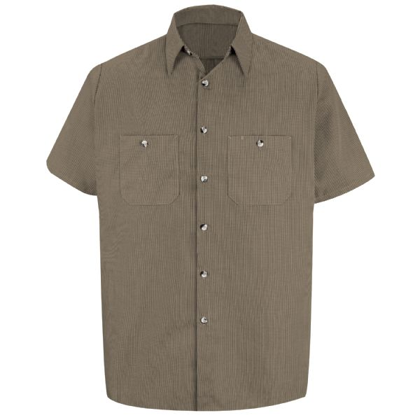 Product Shot - Men&#39;s Micro-Check Uniform Shirt