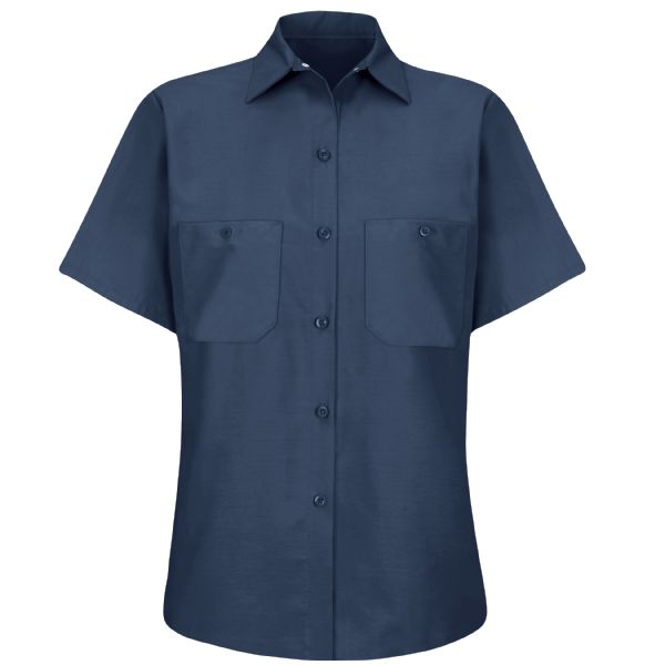 Product Shot - Women's Short Sleeve Industrial Work Shirt