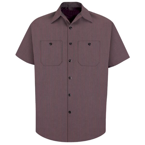 Product Shot - Men's Short Sleeve Durastripe® Work Shirt