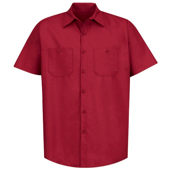 Product Shot - Men's Short Sleeve Industrial Work Shirt