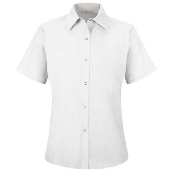 Product Shot - Women's Short Sleeve Specialized Pocketless Work Shirt