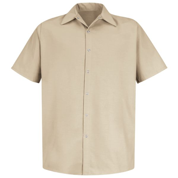 Product Shot - Men's Short Sleeve Specialized Pocketless Work Shirt