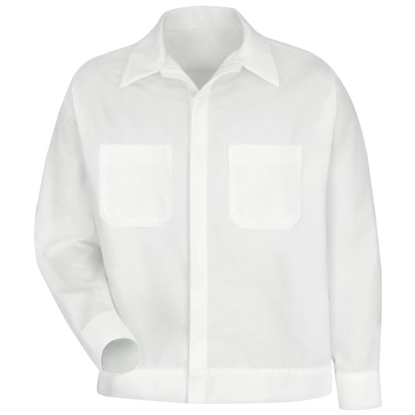 Product Shot - Men's Button-Front Shirt Jacket