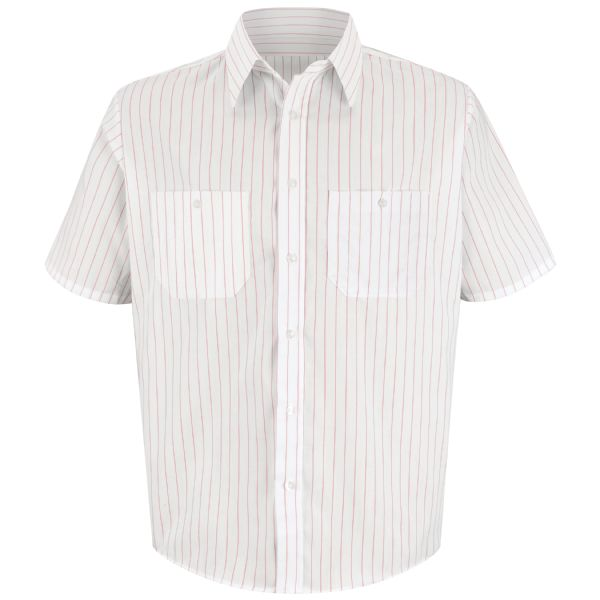 Product Shot - Men's Striped Dress Uniform Shirt