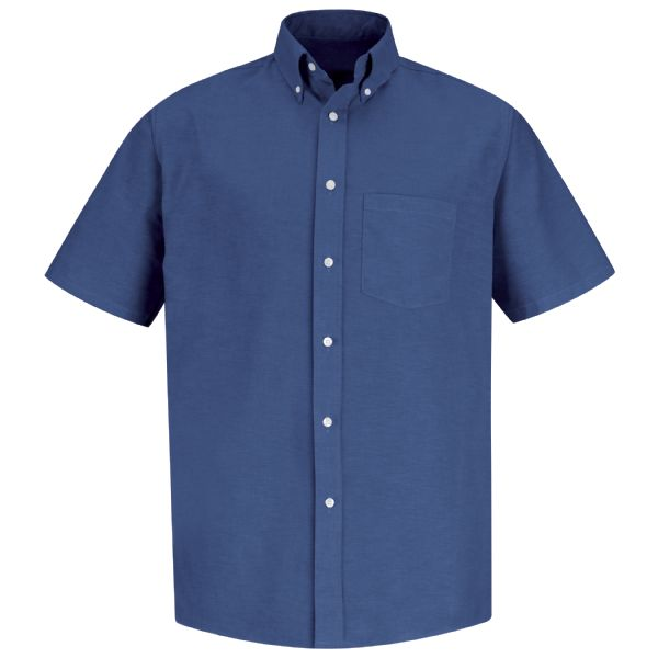 Product Shot - Men's Short Sleeve Executive Oxford Dress Shirt