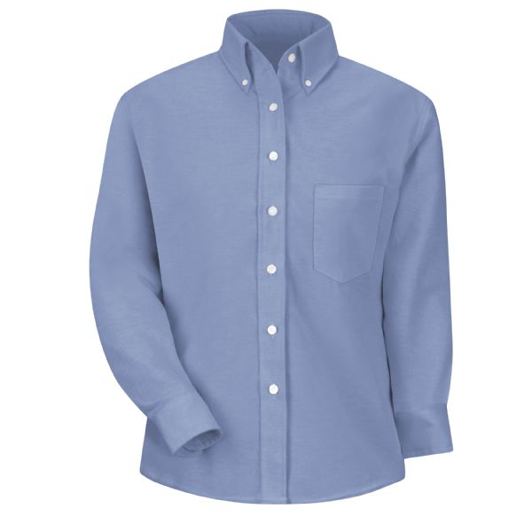 Product Shot - Women's Long Sleeve Executive Oxford Dress Shirt
