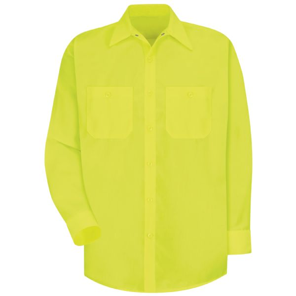 Product Shot - Long Sleeve Enhanced Visibility Work Shirt