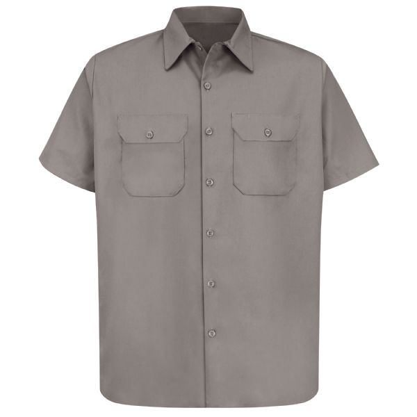Product Shot - Men's Short Sleeve Utility Uniform Shirt