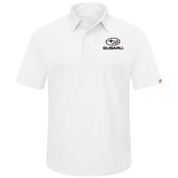 Subaru® Men's Short Sleeve Performance Knit® Flex Series Pro Polo