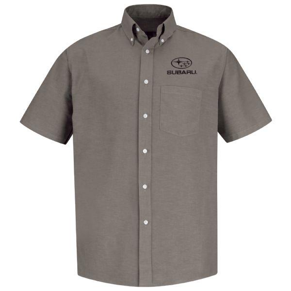 Subaru® Men's Short Sleeve Executive Oxford Dress Shirt