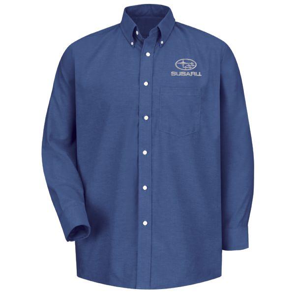 Subaru® Men's Long Sleeve Executive Oxford Dress Shirt