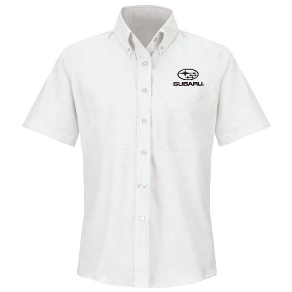 Subaru® Women's Short Sleeve Executive Oxford Dress Shirt