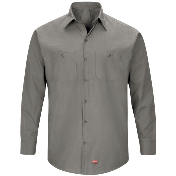 Product Shot - Men's Long Sleeve Work Shirt with MIMIX™