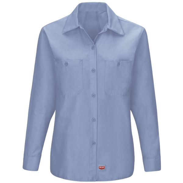 Product Shot - Women's Long Sleeve Work Shirt with MIMIX™
