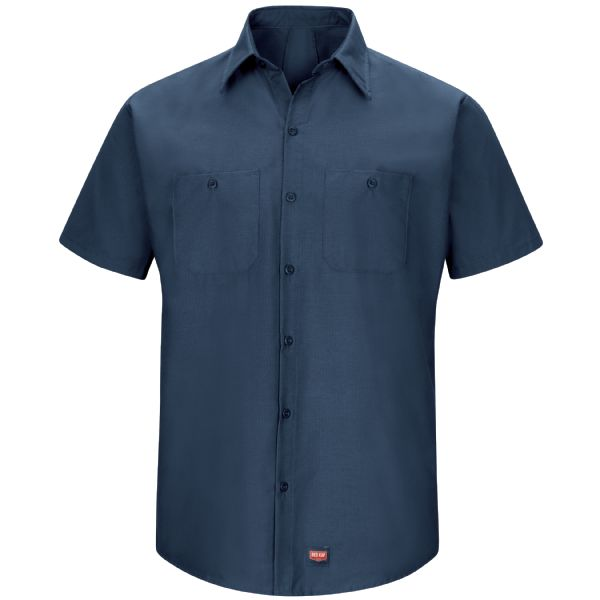 Product Shot - Men's Short Sleeve Work Shirt with MIMIX™