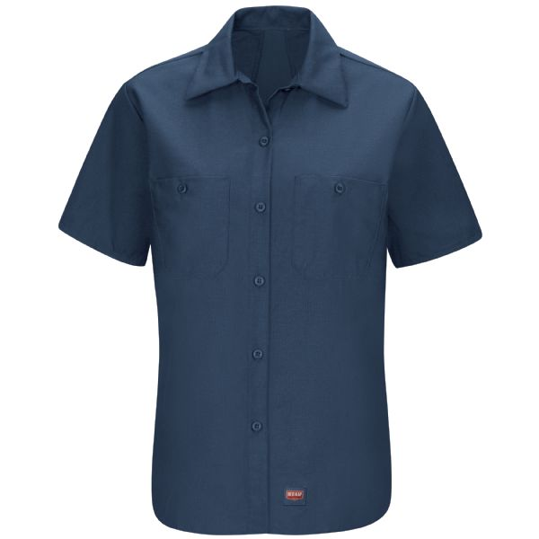 Product Shot - Women's Short Sleeve Work Shirt with MIMIX™