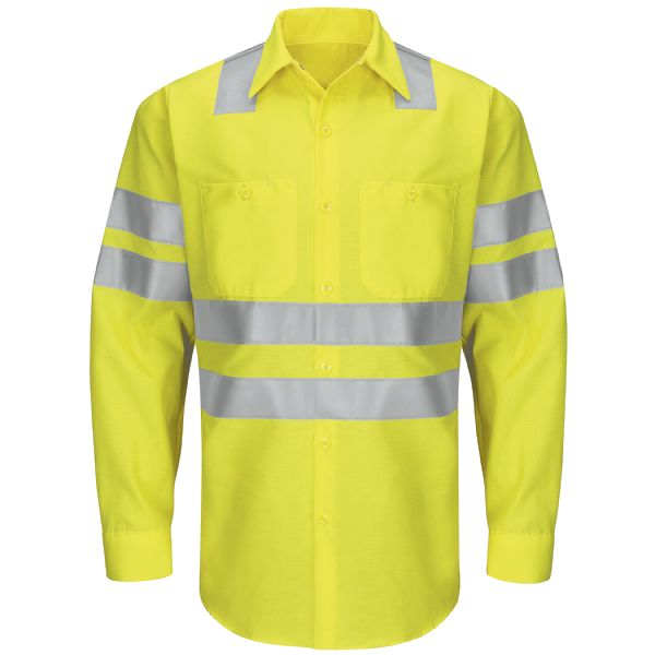 Product Shot - Hi-Visibility Ripstop Work Shirt - Class 3 Level 2