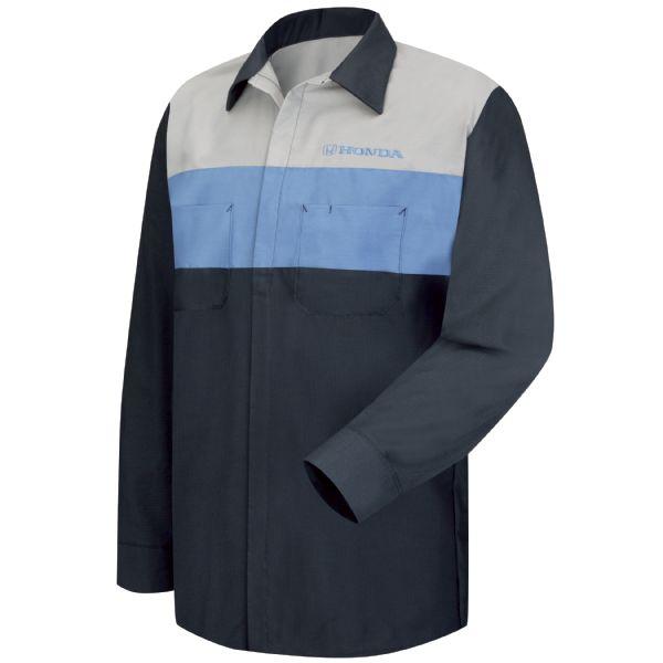 Honda® Long Sleeve Technician Shirt