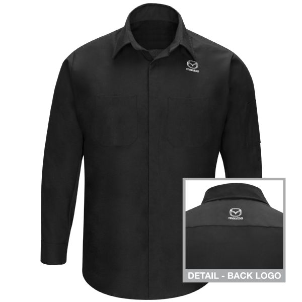 Mazda® Long Sleeve Technician Shirt