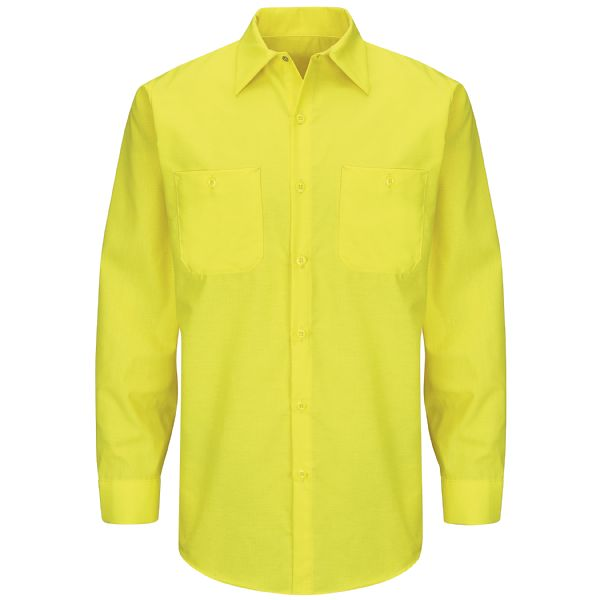 Product Shot - Long Sleeve Enhanced Visibility Ripstop Work Shirt
