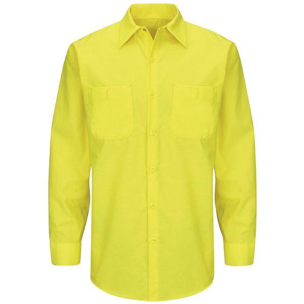 Long Sleeve Enhanced Visibility Ripstop Work Shirt
