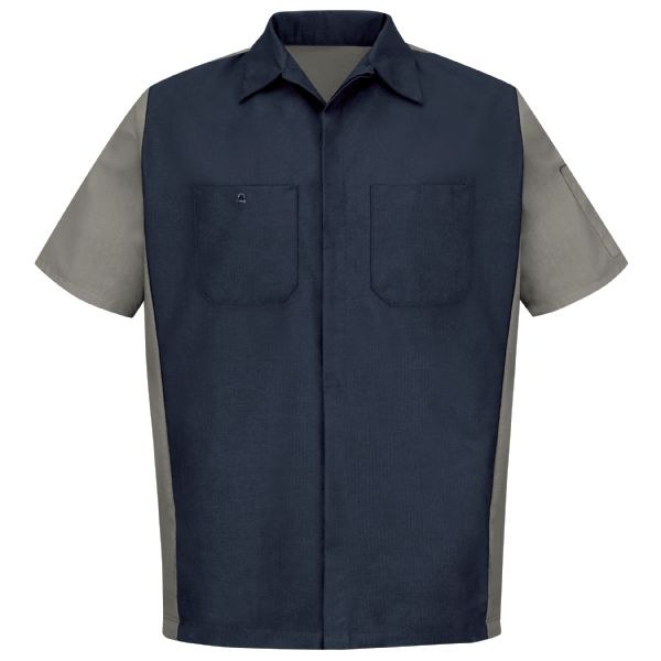 Product Shot - Men's Short Sleeve Two-Tone Crew Shirt