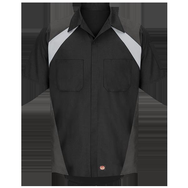 Tri-Color Shop Shirt