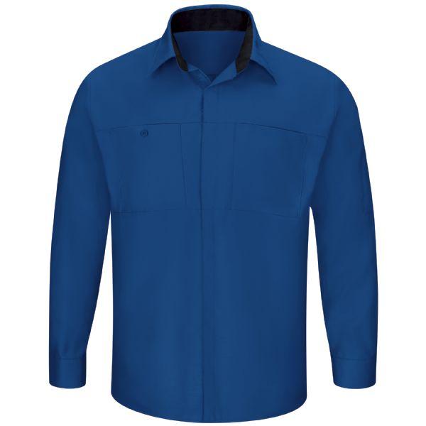 Product Shot - Men's Performance Plus Shop Shirt with OilBlok Technology