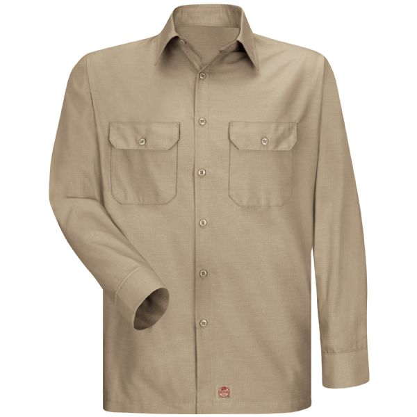 Product Shot - Men's Long Sleeve Solid Rip Stop Shirt