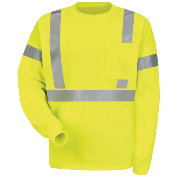 Workwear Hi-Visibility Long Sleeve T-Shirt
