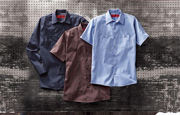 0711eddb25 Check Work Shirt for Auto Mechanics