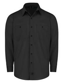 Product Shot - Men's Industrial WorkTech Ventilated Long-Sleeve Work Shirt With Cooling Mesh