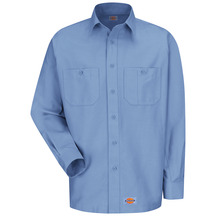 Product Shot - Men's Canvas Long-Sleeve Work Shirt
