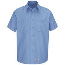 Product Shot - Men's Canvas Short-Sleeve Work Shirt