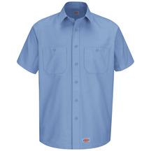 Men's Canvas Short-Sleeve Work Shirt