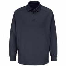 Product Shot - New Dimension® Long Sleeve Polo