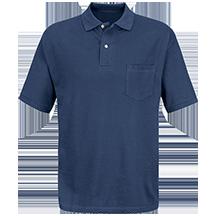 Short Sleeve Basic Pique Polo