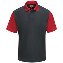 Men's Short Sleeve Performance Knit<sup>®</sup> Color-Block Polo
