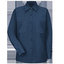 Women's Long Sleeve Industrial Work Shirt
