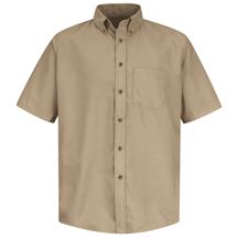 Short Sleeve Poplin Dress Shirt